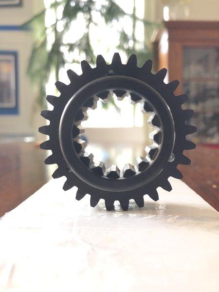6 speed single disc clutch hub
