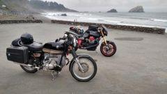 riding north of Eureka Califa