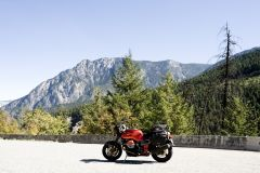 guzzi In The mountains