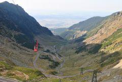 Transfagarasan mountain road, Romania